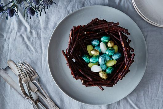 Chocolate Pretzel Basket