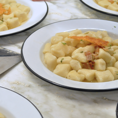 Four-Way Parmesan Gnocchi