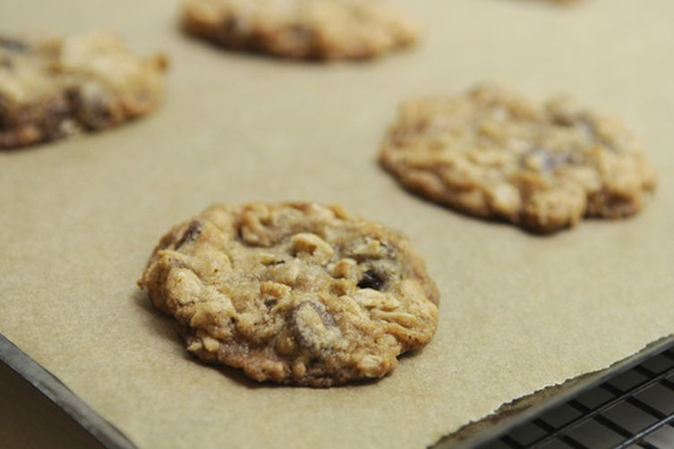 Crispy Oatmeal Chocolate Chip Cookies Recipe on Food52
