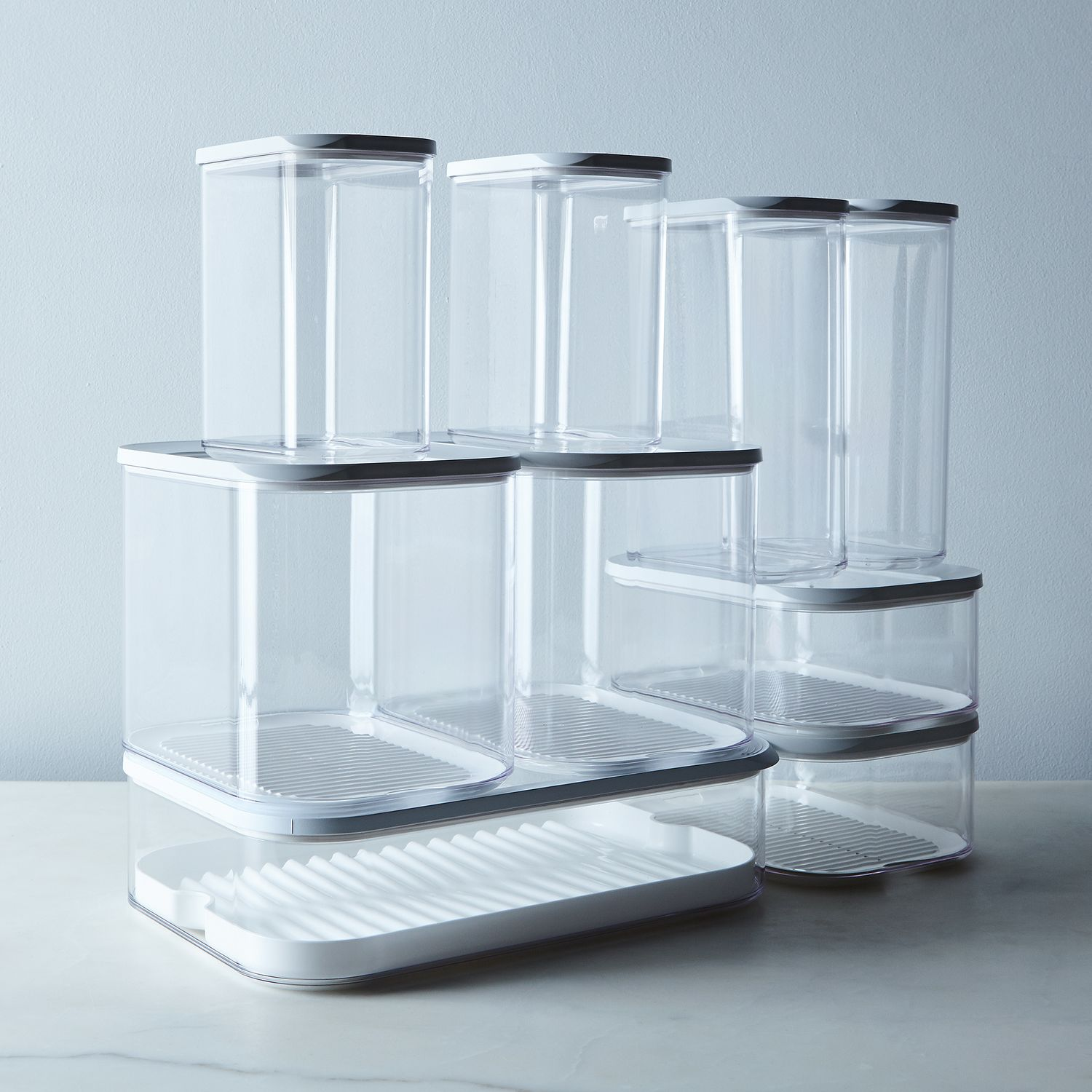 Pantry Food Storage Containers: Modula Stackable Storage Containers (Set Of 2) On Food52
