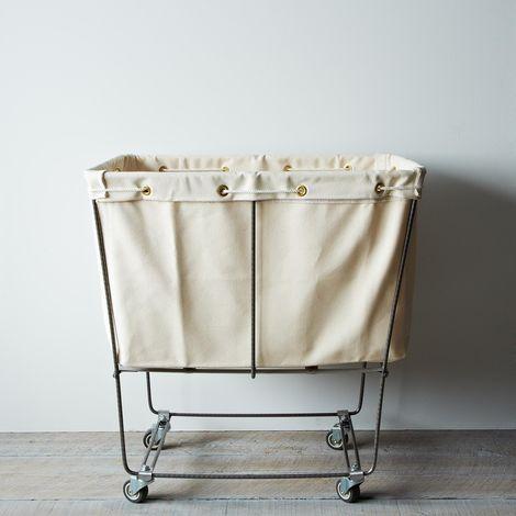 Elevated Laundry Basket