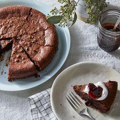 The Nordic Baking Book's Kladdkaka (Swedish Gooey Chocolate Cake)