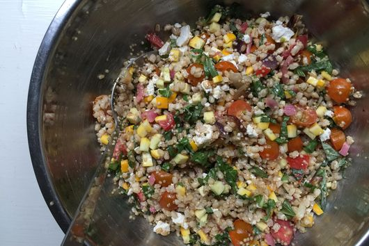 An End-of-Summer-Panic Salad for Amanda (and Her Kids' Lunch)