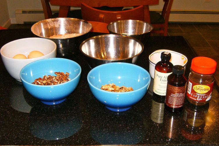 Chocolate Biscotti (two ways)