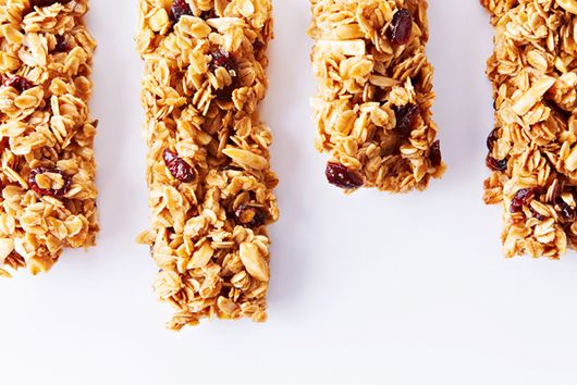 Homemade Cranberry Almond Granola Bars