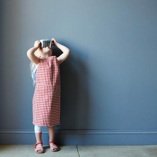 Child's Gingham Apron