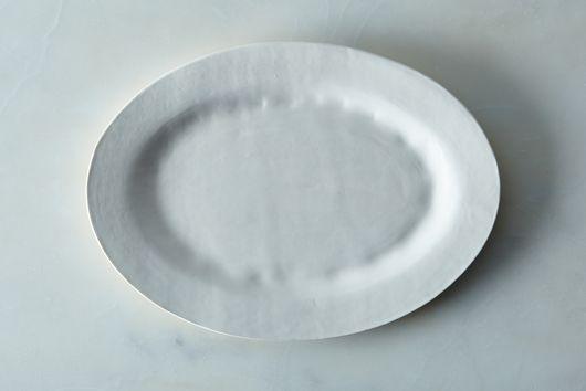 Food52 Handmade Oval Serving Platter, by Looks Like White