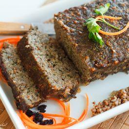 Buckwheat Lamb Meatloaf