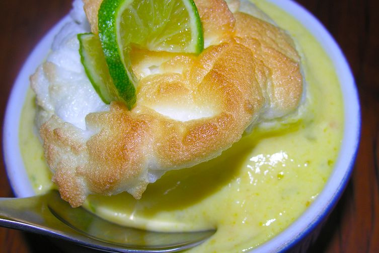 Quick key lime pie pudding