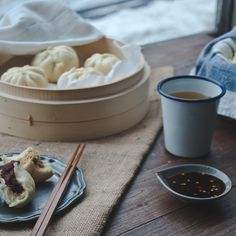 Plain Steamed Buns (Mantou)