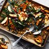 Roasted Sweet Potato, Chickpea & Kale Sheet-Pan Salad