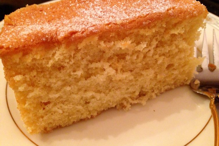 Homemade Moist Vanilla Cake