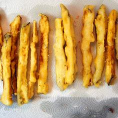 Rockin' Tempura Eggplant Fries