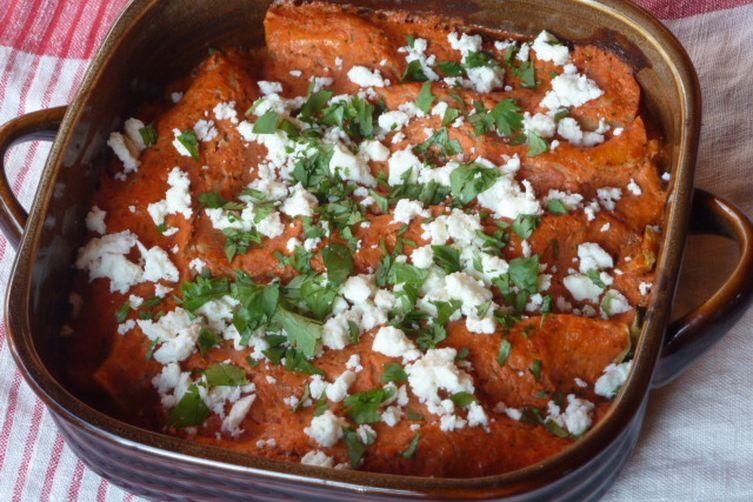 Roasted Vegetable Enchiladas