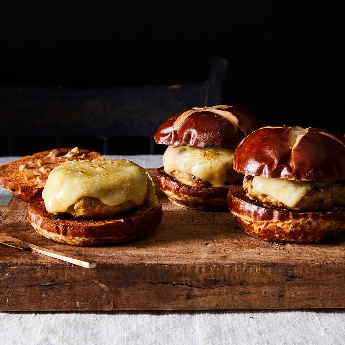 Turkey Mushroom Burgers Recipe On Food52