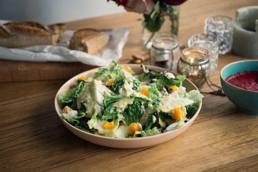 A Lighter Caesar Salad