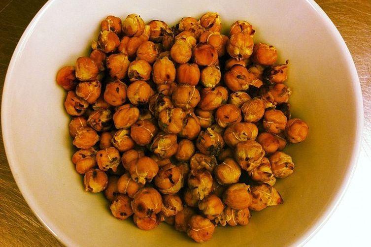 lemon roasted chickpeas
