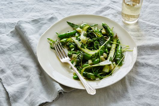 A Bright Green Ode to Springtime, Featuring Fresh Fava Beans