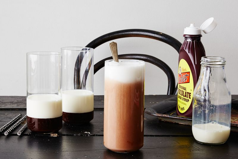 How to Make a *Proper* Chocolate Egg Cream Without a Recipe