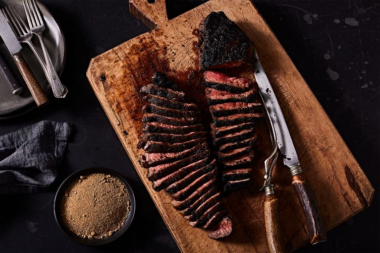 Dry-Aged Strip Steaks Without Drying or Aging