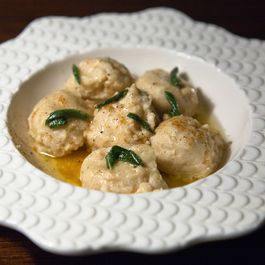 Bread Dumplings with Sage Brown Butter