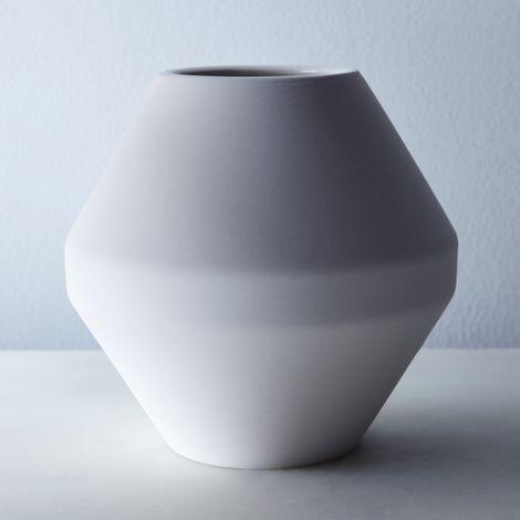 Radial Stoneware Vase
