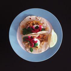 Persian Chicken Tacos
