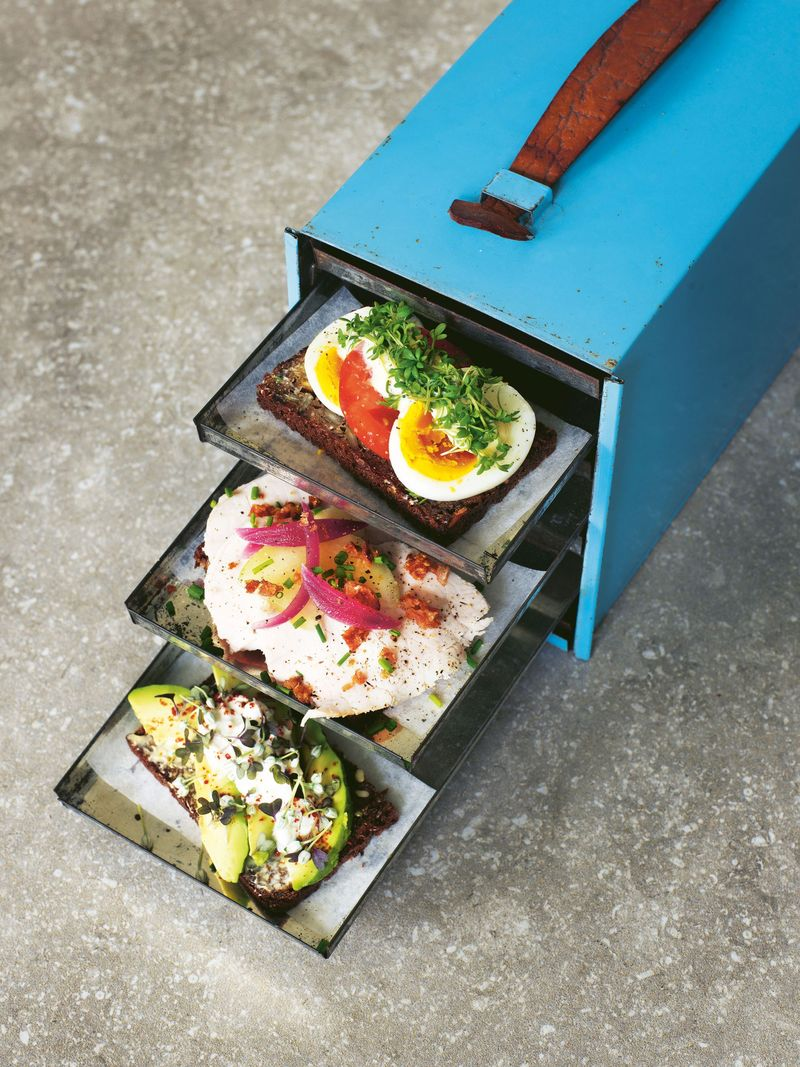 If only Hans could carry one of these portable smørrebrøds with him!