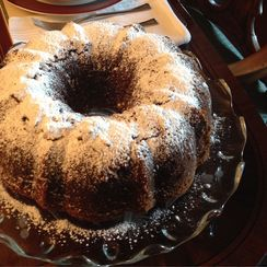 Ginger Ale Spice Cake