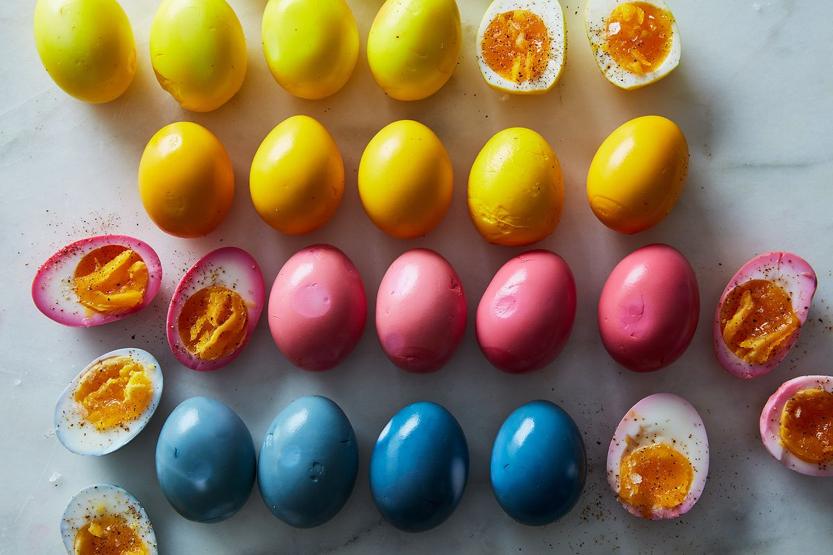 how to make any kind and color of pickled eggs