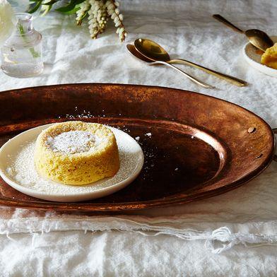 "Tahini ""Soufflé"" (Molten Tahini Cakes)"