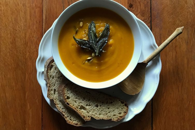 Butternut, Brown Butter & Sage Soup