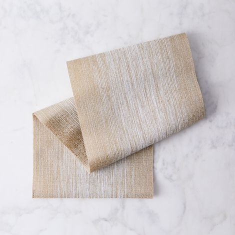 Chilewich Gold Ombré Table Runner