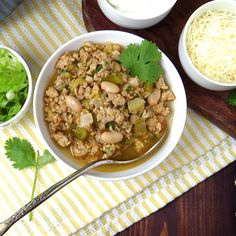 tomatillo turkey chili