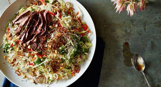 Your Best Shaved Salad