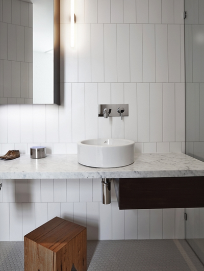 white rectangular tiles bathroom 5 less boring ways to pattern subway tiles if you must 21585
