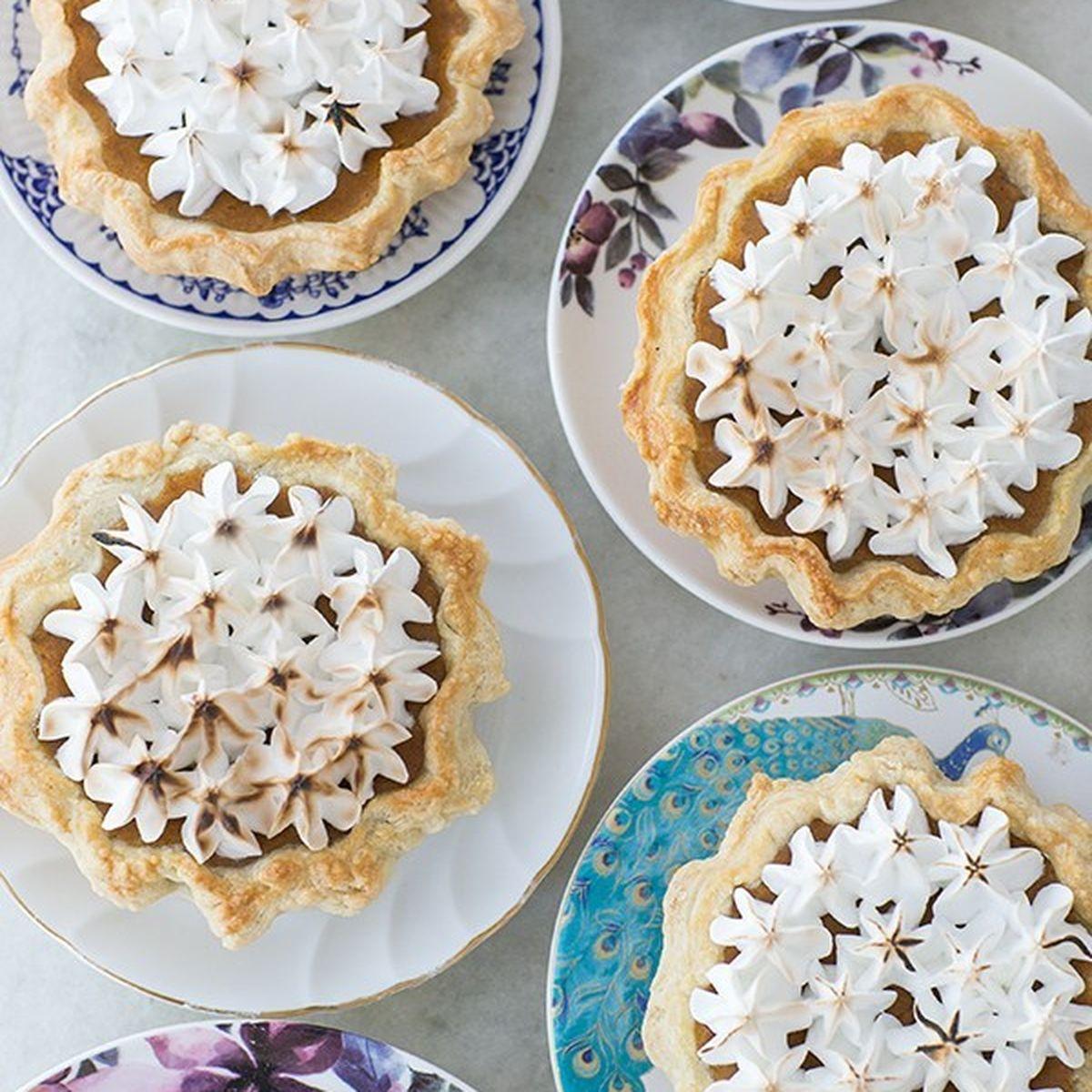 Mini Toasted Marshmallow Pumpkin Pie Recipe On Food52
