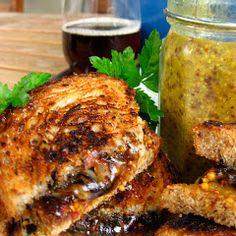 Grilled Beer Sandwich