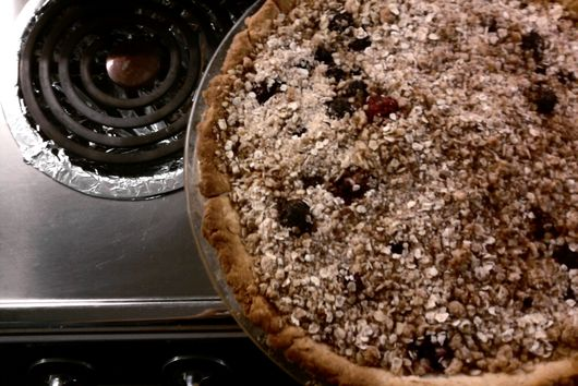 my crumble topping