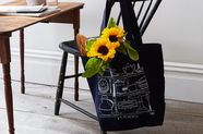 Introducing: Our New, Artist-Illustrated Tote Bag Series (+ the First Design!)