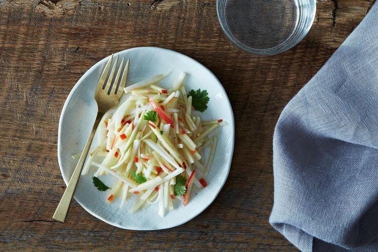 Kohlrabi salad from Food52