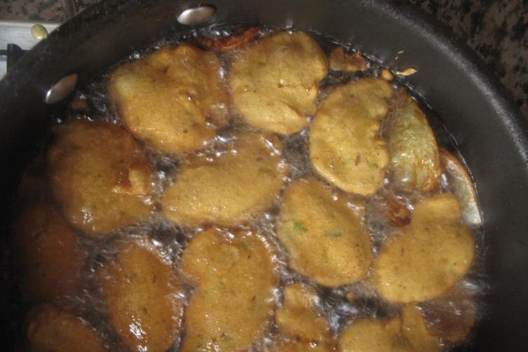 'Akara' aka lentil or bean fritters