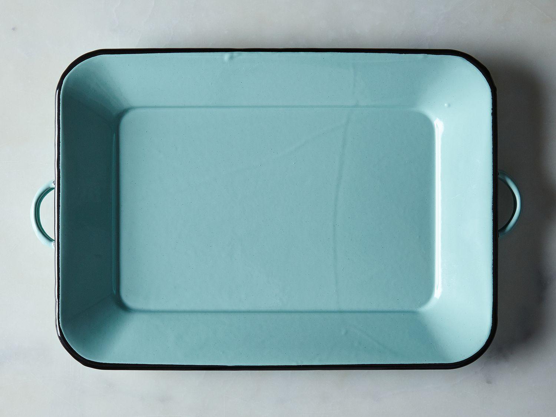 Beautiful Seafoam Enamel Tray on Food52 MT15