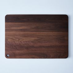 Modern Walnut Cutting Board