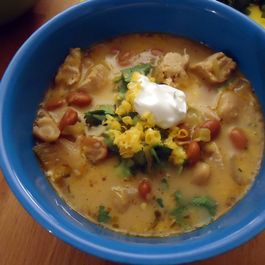 White Chicken Chili by DragonFly