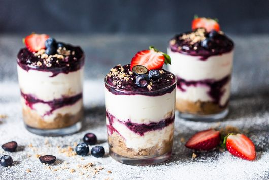 No Bake Blueberry Dessert
