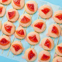 Blood Orange Biscuits