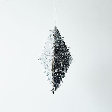 Silver Glitz Piñata