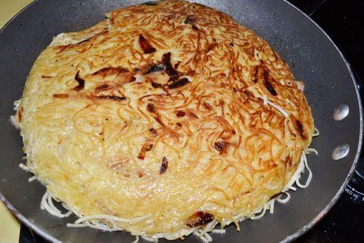 Savory Noodle Kugel (aka Salt and Pepper Kugel)