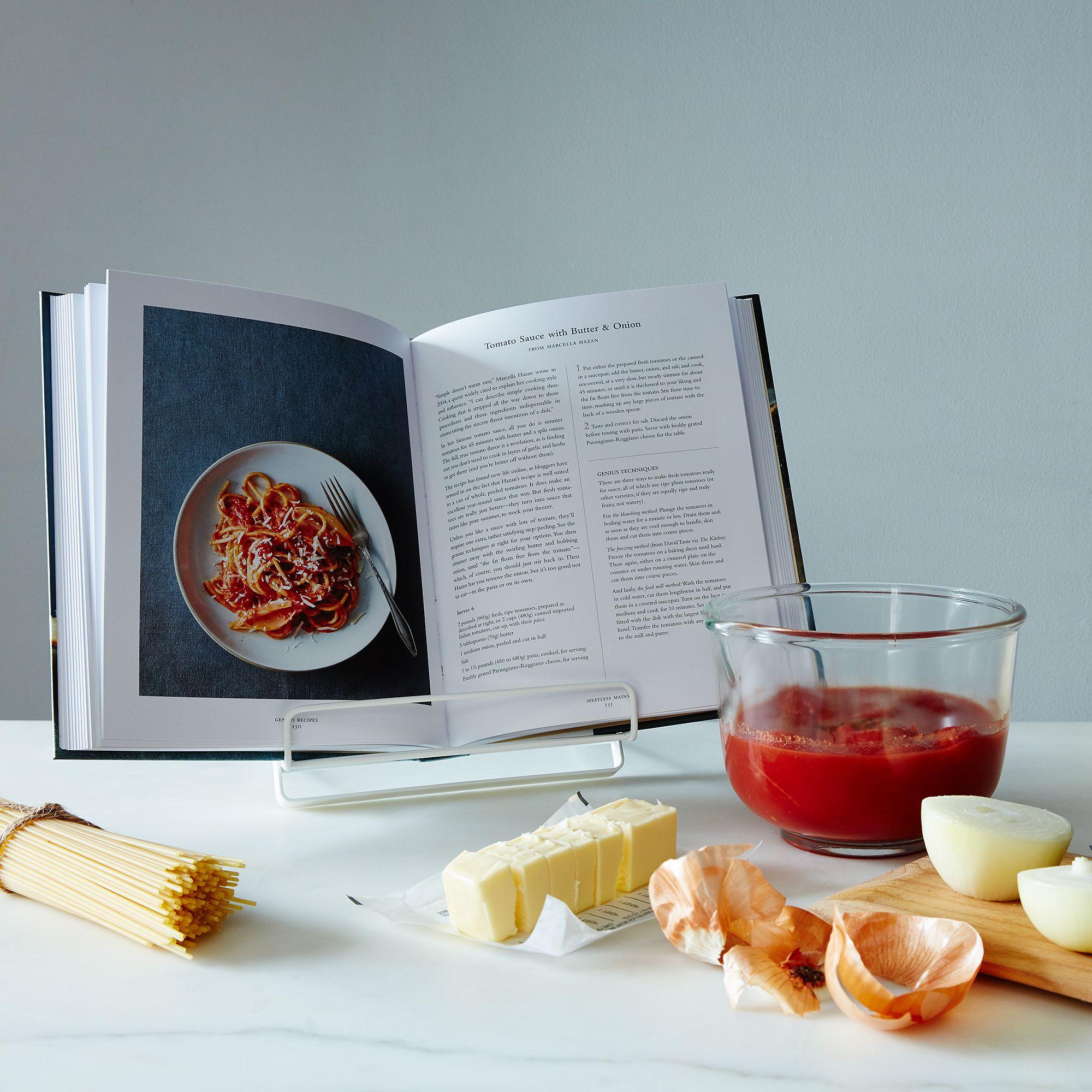 Cookbook & Tablet Stand on Food52